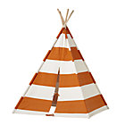 Orange Stripe Teepee