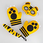 Yellow Tiger Dress-Up Set