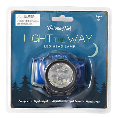 Light the Way Head Lamp (Blue)