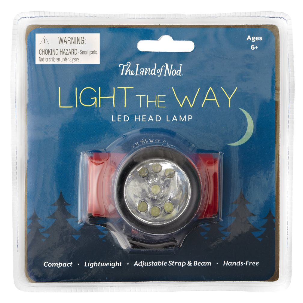 Light the Way Head Lamp (Red)