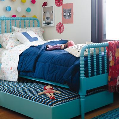 Jenny Lind Bed (Azure)