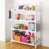 Jenny Lind Bookcase (White)