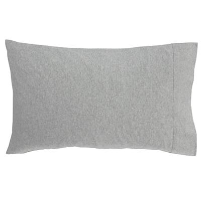 Grey Jersey Pillowcase