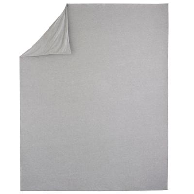 Twin Grey Jersey Duvet Cover