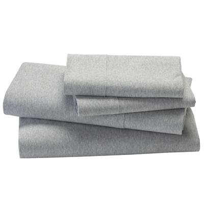 Grey Jersey Sheet Set (Full)