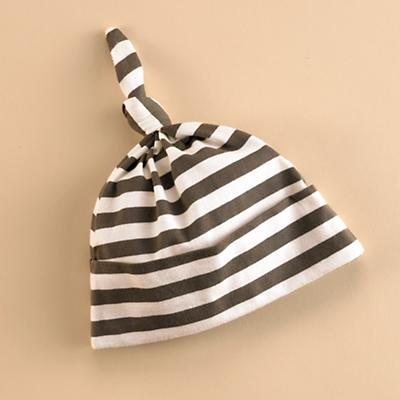 KQ_Brown stripe hat