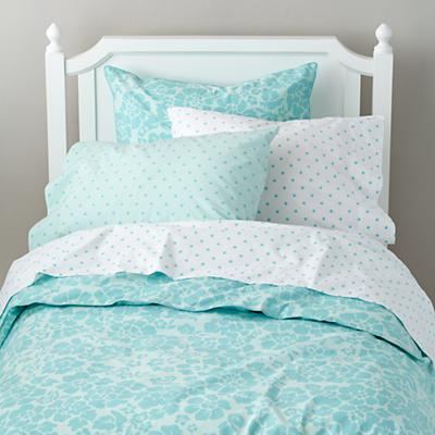 Dream Girl Kid Duvet Cover (Aqua)