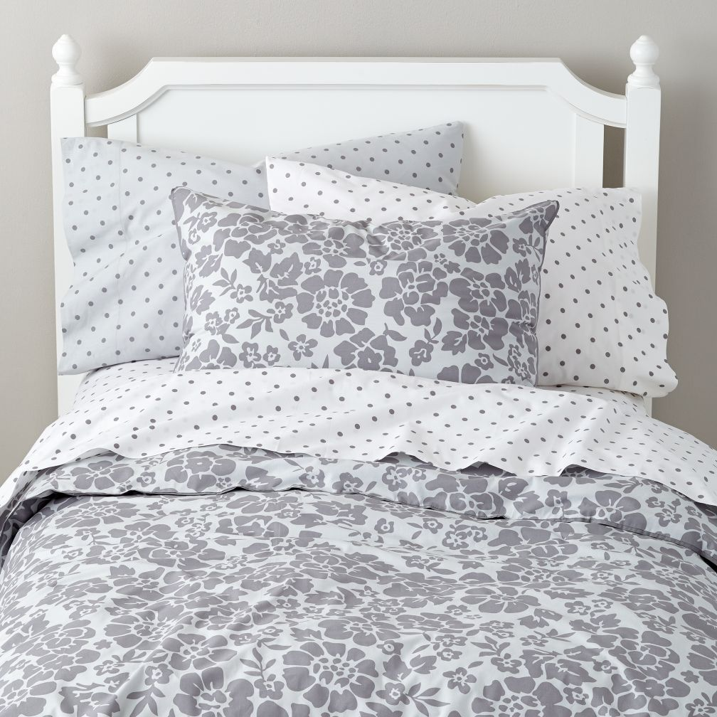 Dream Girl Kid Bedding (Grey)
