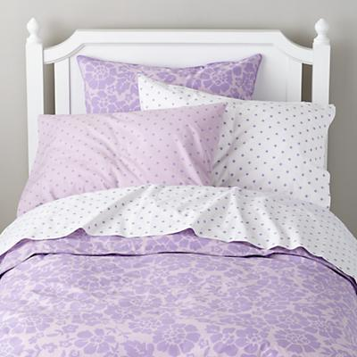 Dream Girl Floral Sham (Lavender)