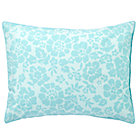 Aqua Dream Girl Floral Sham