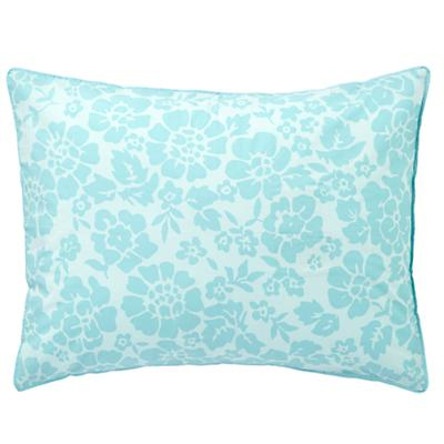 Dream Girl Floral Sham (Aqua)