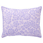 Lavender Dream Girl Floral Sham