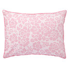 Pink Dream Girl Floral Sham