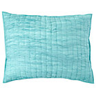 Aqua Dream Girl Quilted Sham