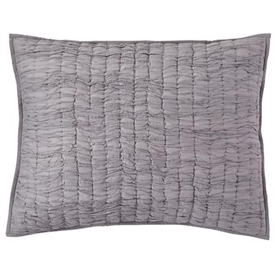 Dream Girl Quilted Sham (Grey)