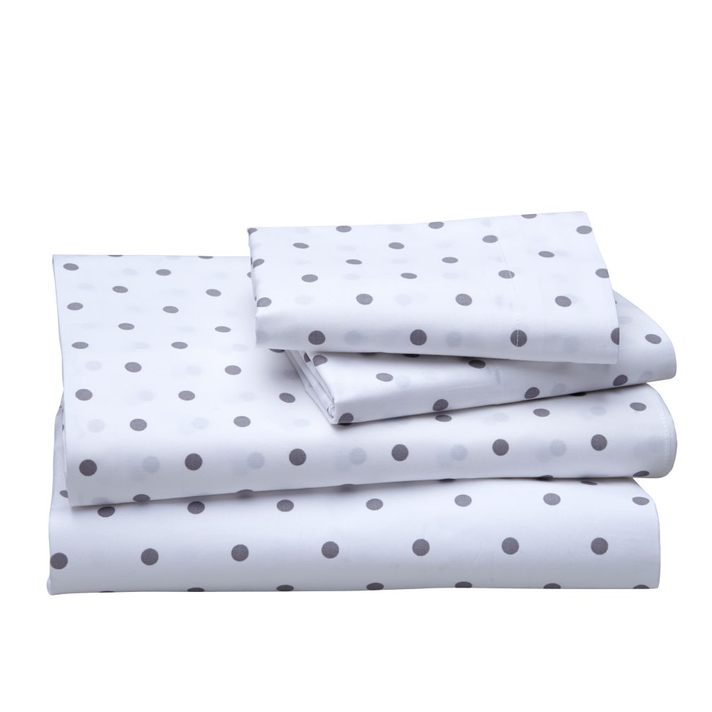 Dream Girl Full Sheet Set (Grey)