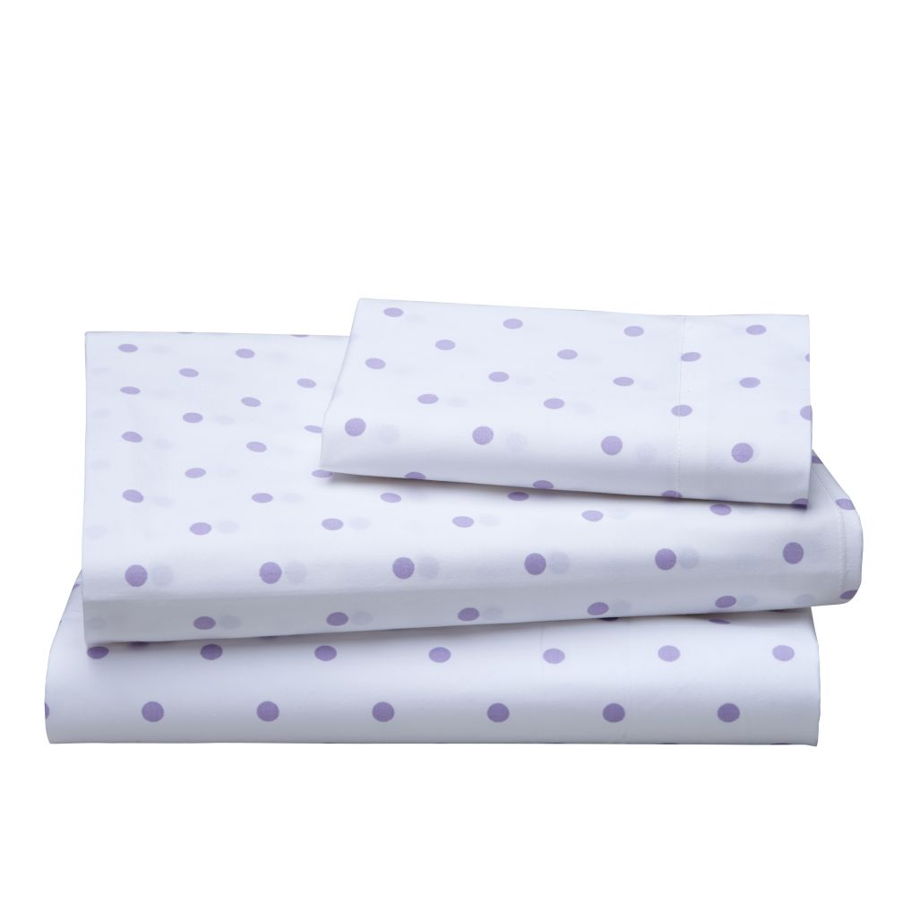 Dream Girl Twin Sheet Set (Lavender)