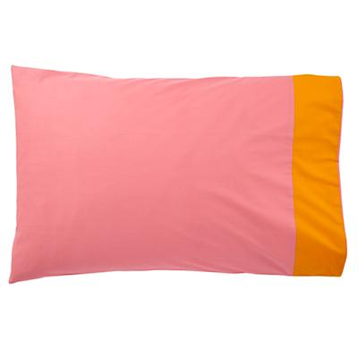 Floral Gem Pillowcase (Pink-Orange)