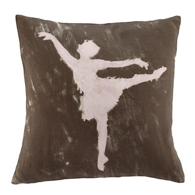 Ballet Dancer Throw Pillow Set