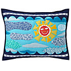 Blue Quilted Interstate Sham