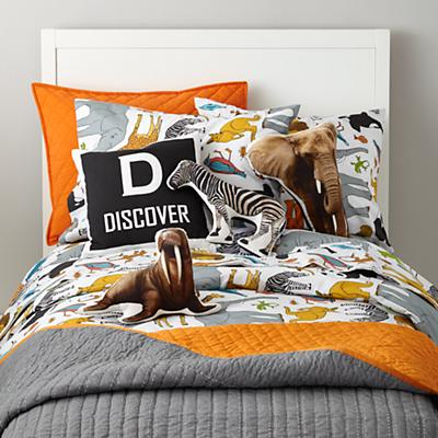 Welcome to the Jungle Duvet Cover