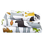 Twin Welcome Jungle Sheet Set(includes 1 fitted sheet, 1 flat sheet and 1 case)