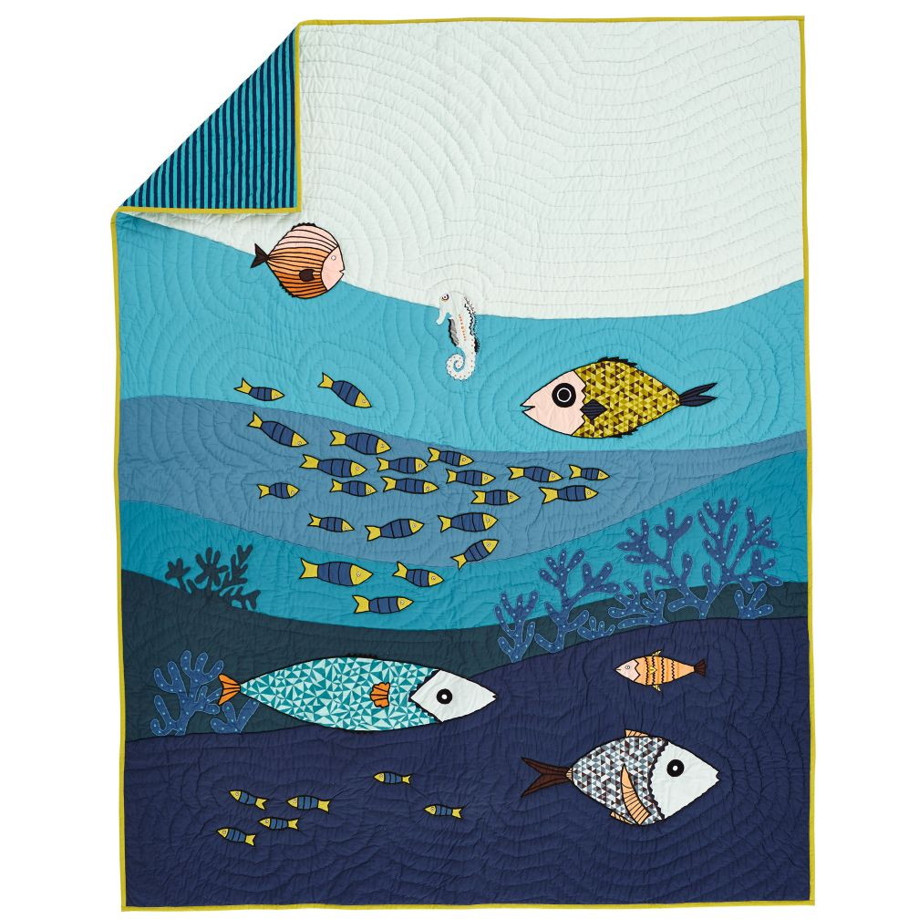 Oceanic Quilt (Twin)