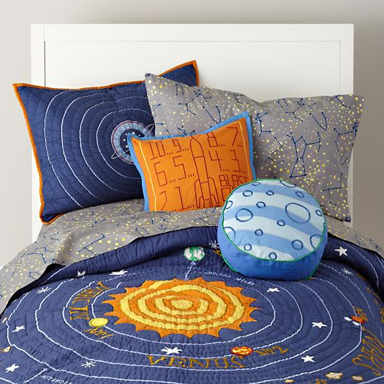 toddler bedding solar system - photo #2