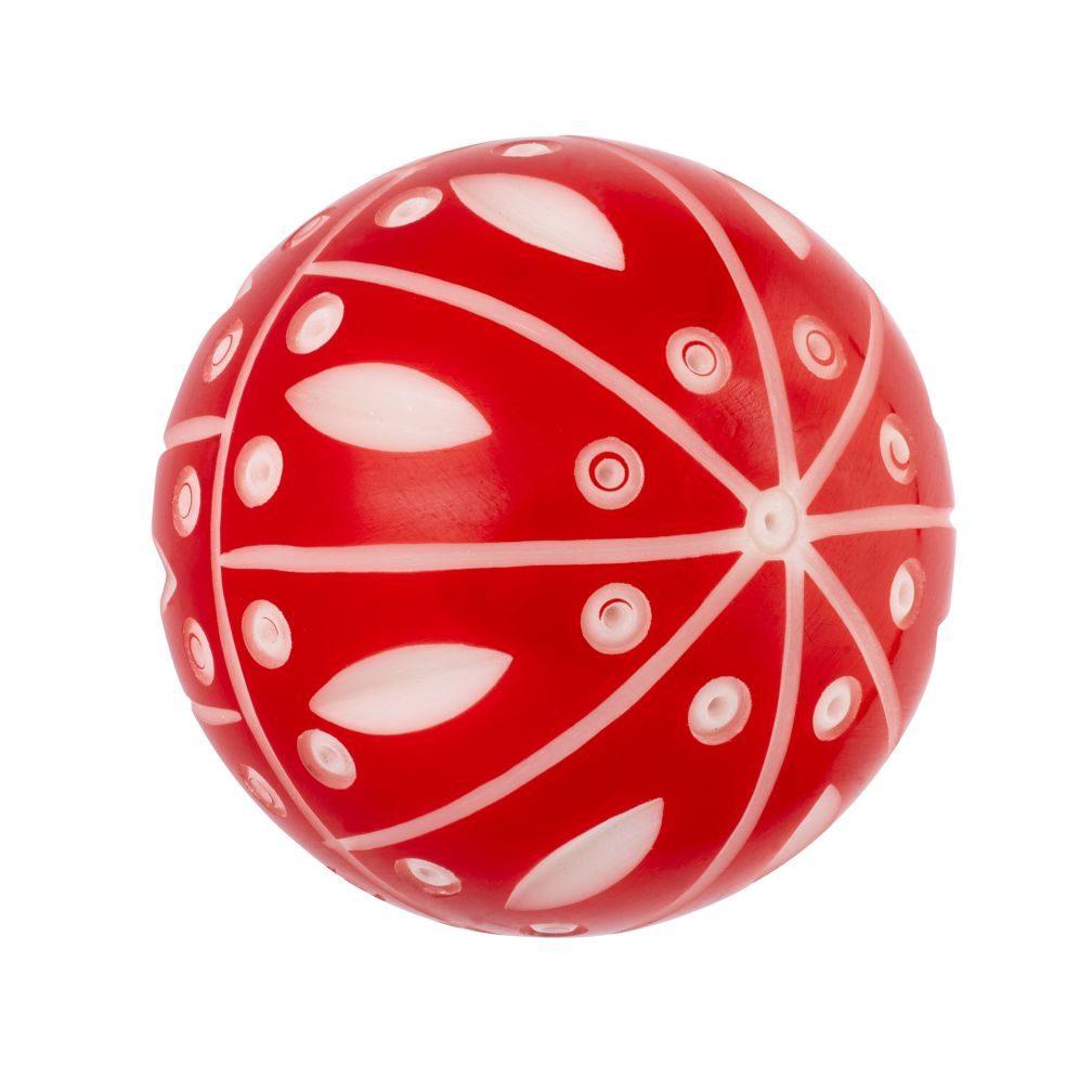 Hand Picked Knobs (Red and White Dot)