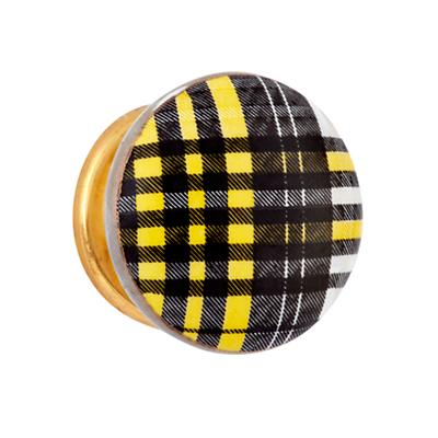 Hand Picked Knobs (Plaid)