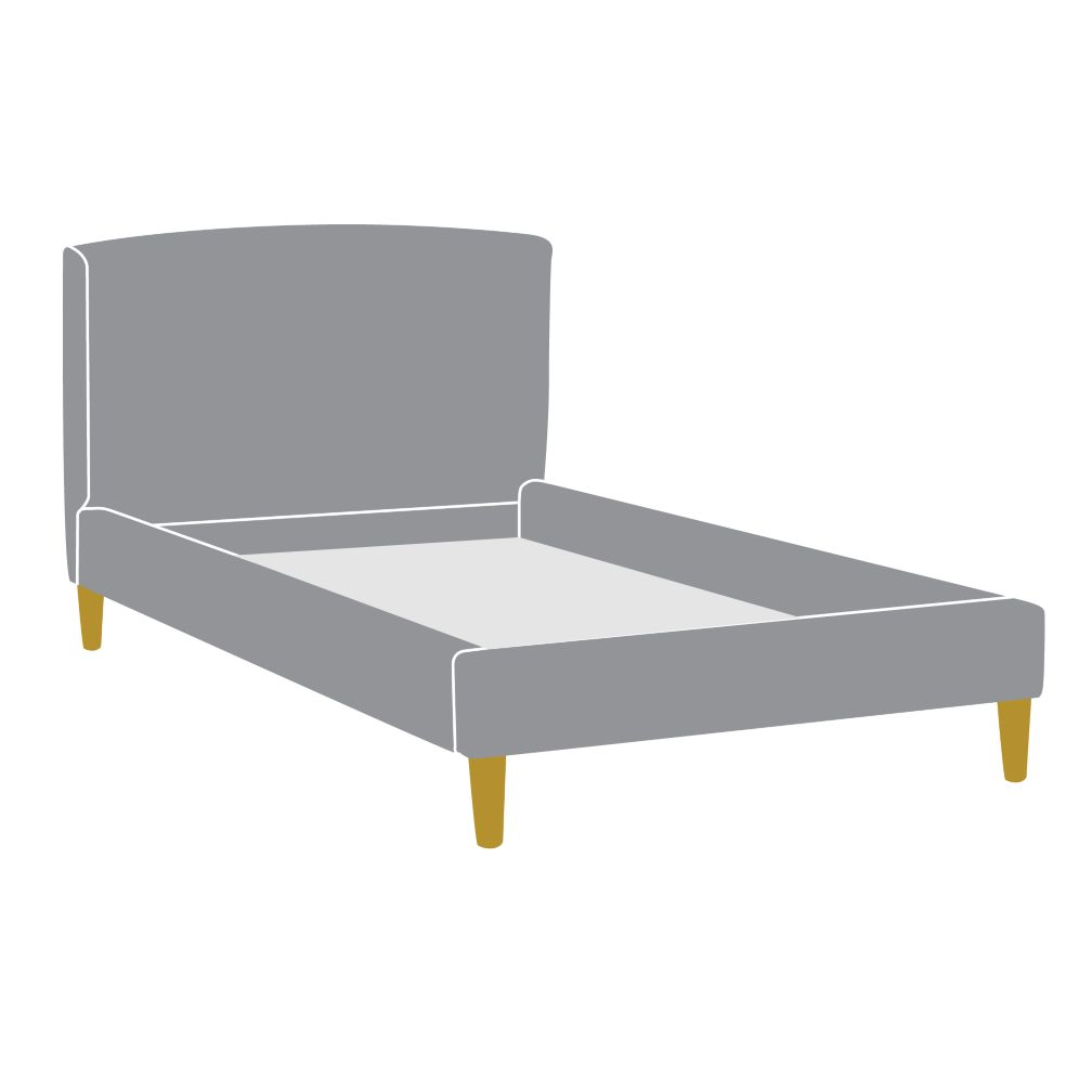 As You Wish Upholstered Bed (Twin)