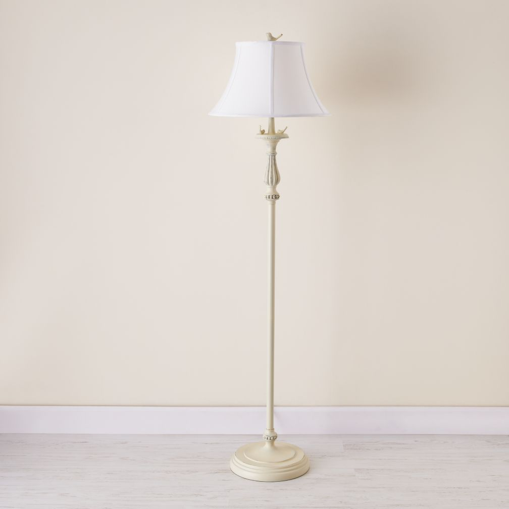 Early Bird Floor Lamp (White Shade)