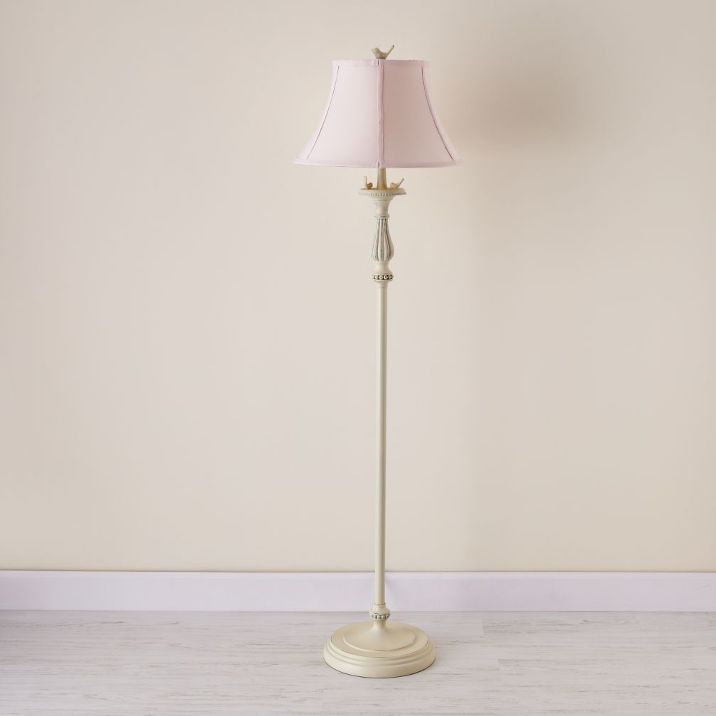 Early Floor Lamp (Pink Shade)
