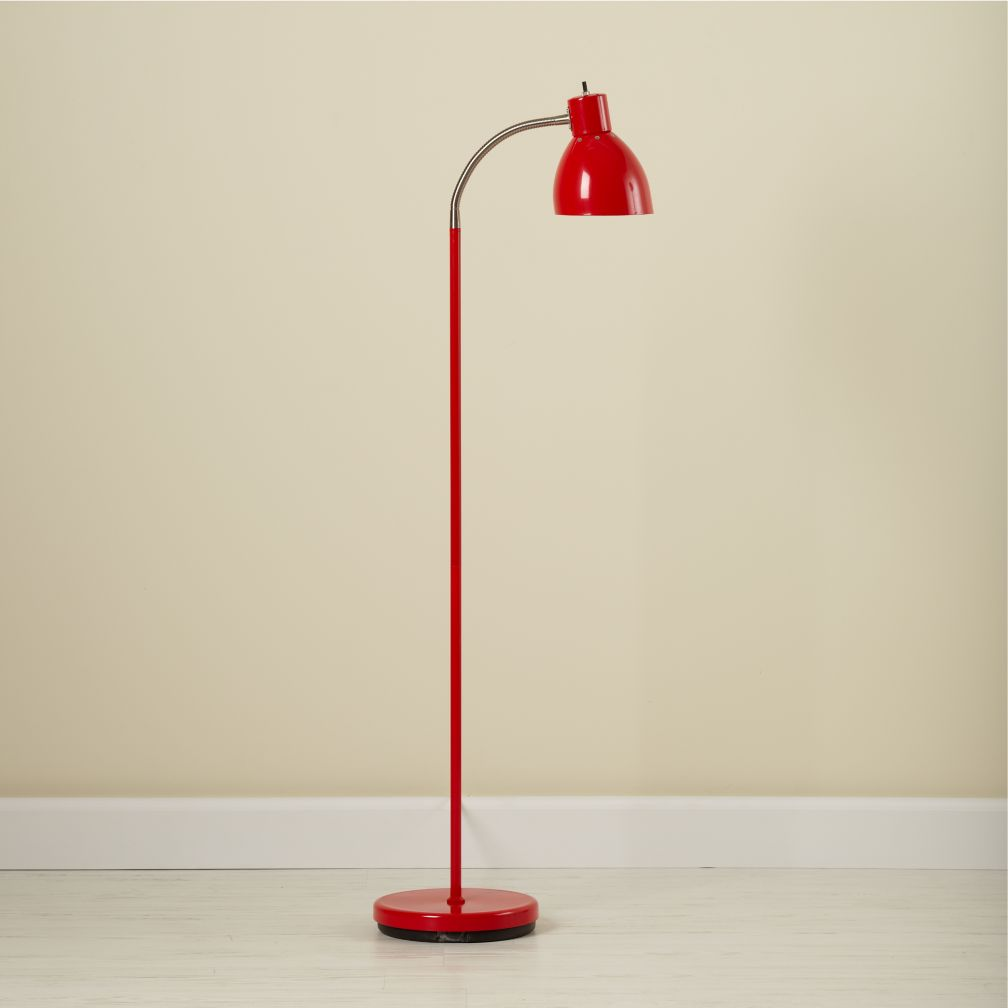 Bright Idea Floor Lamp (Red)