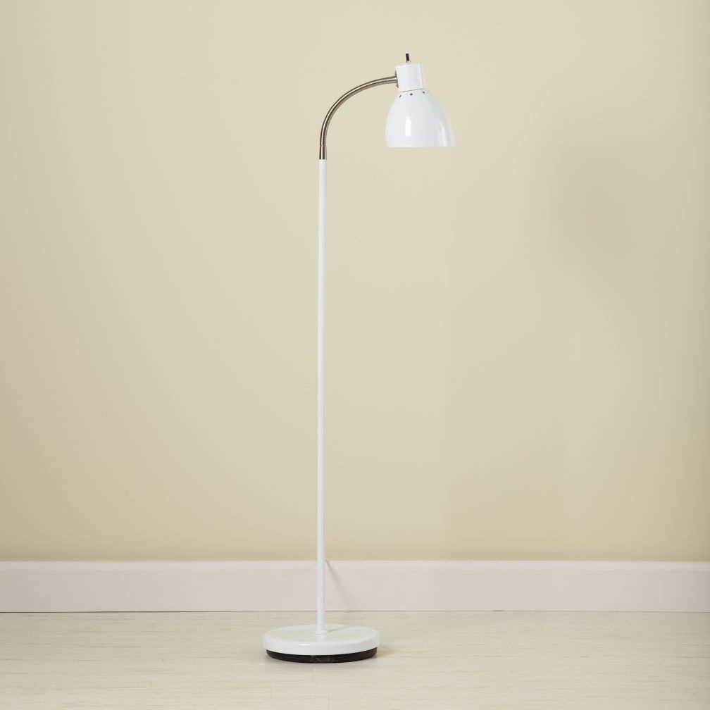 Bright Idea Floor Lamp (White)