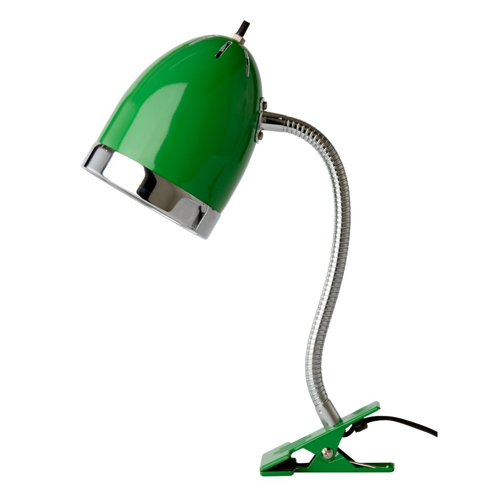 Green Clip Desk Lamp
