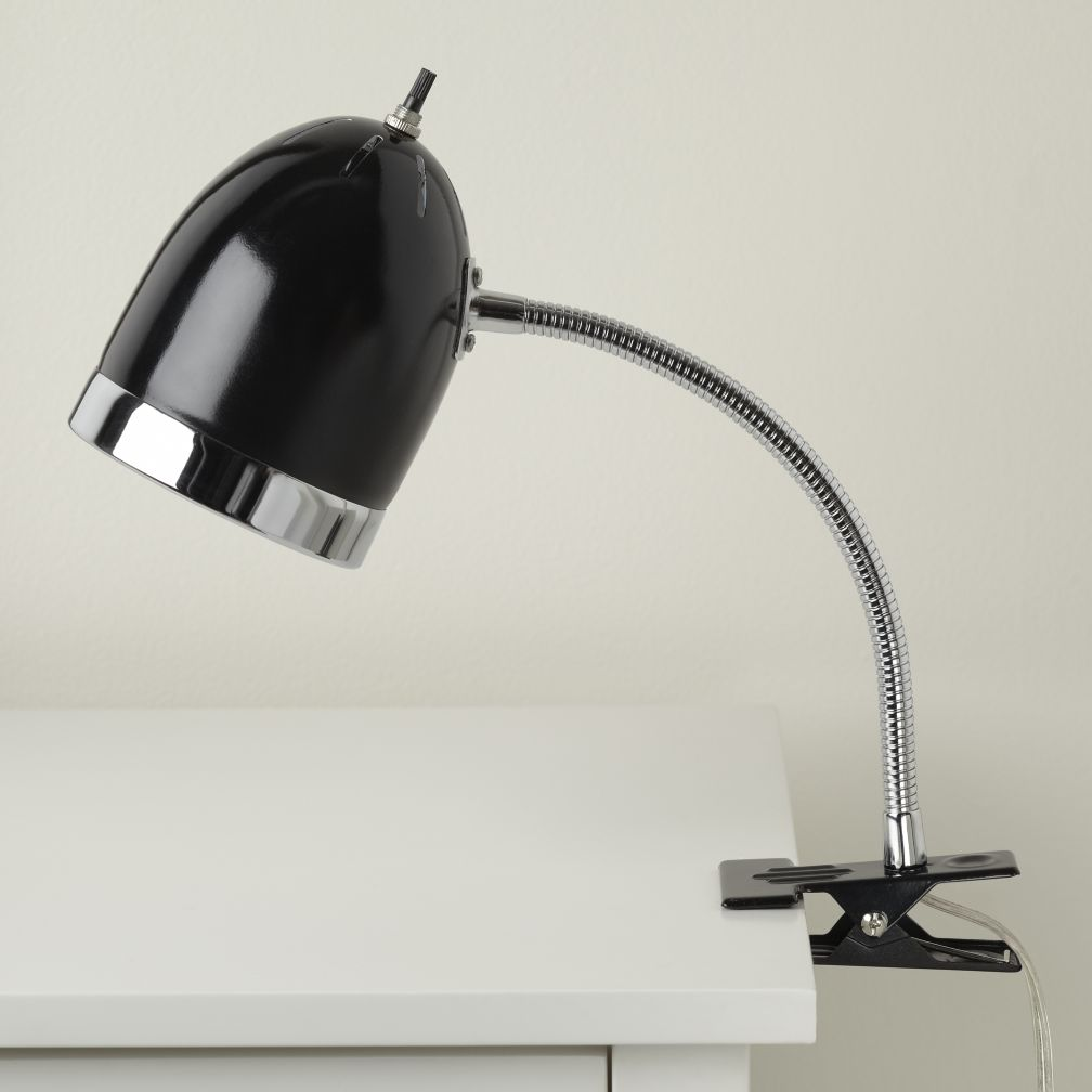Now Clip it, Clip it Good Lamp (Black)
