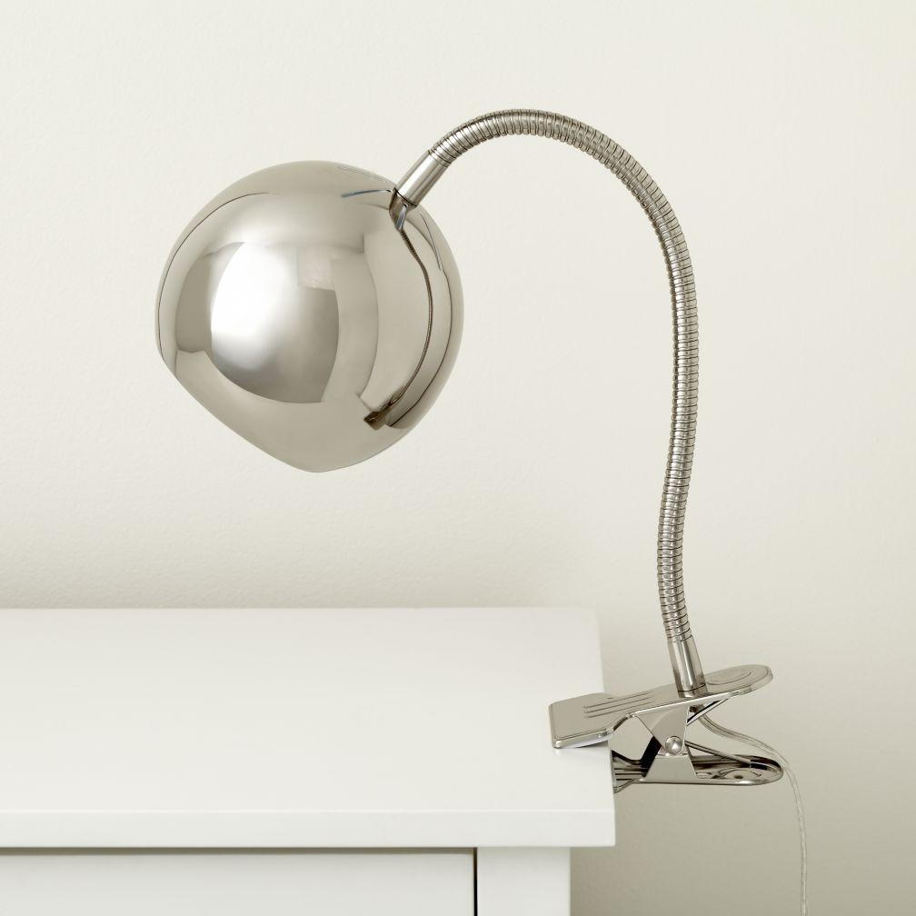 kids desk lamps clip on desk lamps the land of nod. Black Bedroom Furniture Sets. Home Design Ideas