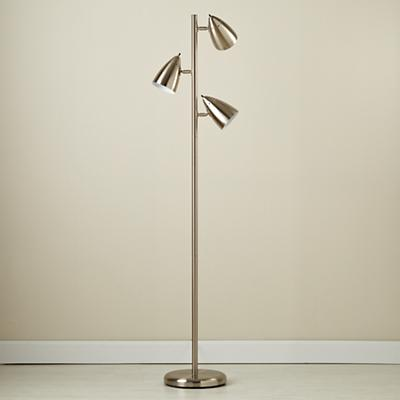 Kids' Lighting: Nickel Tree Floor Lamp in Floor Lamps | The Land