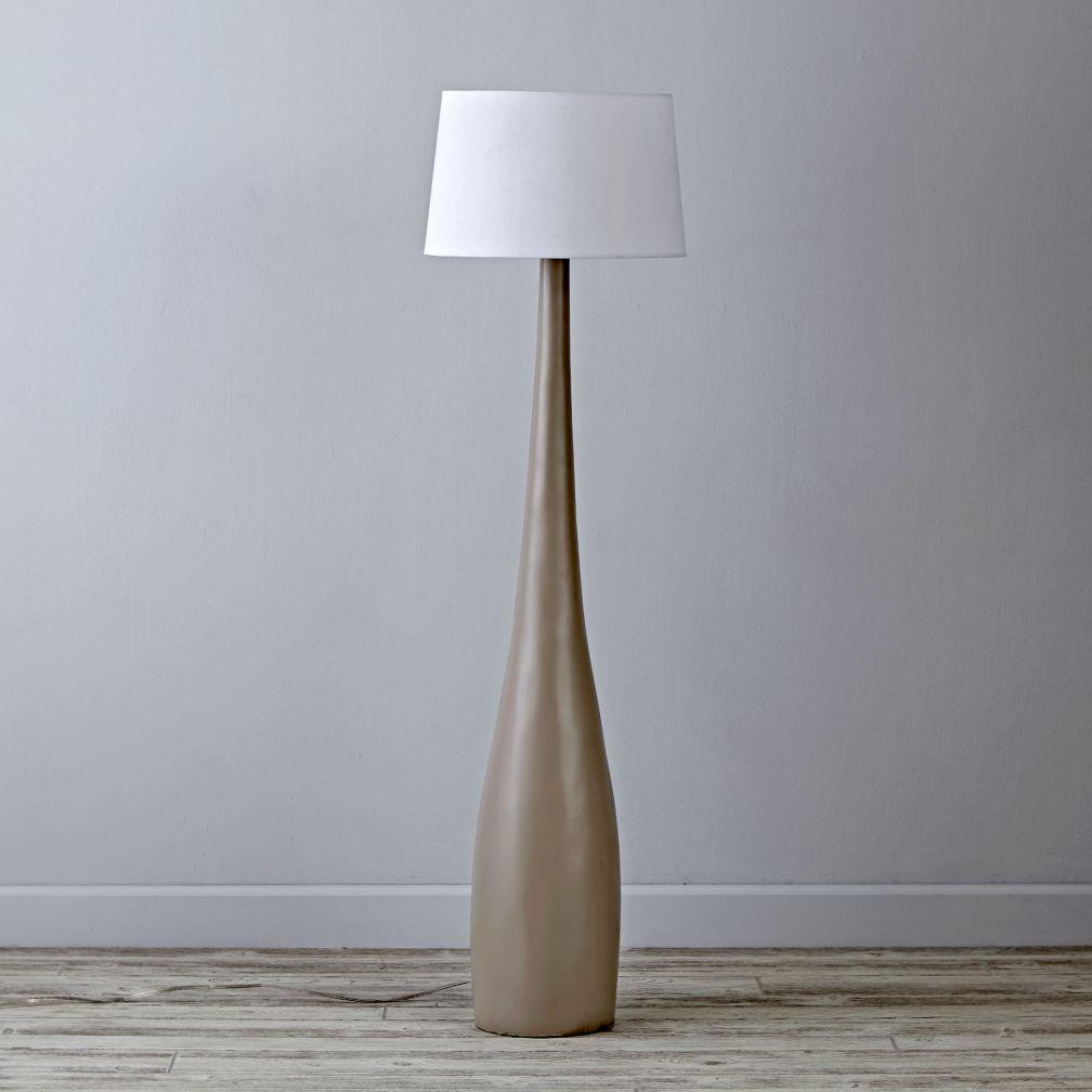 Flared Floor Lamp Base