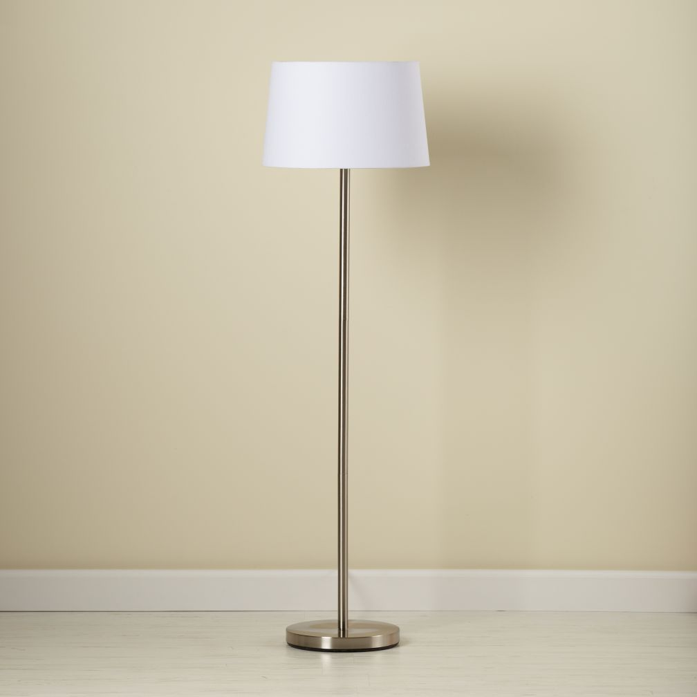 Light Years Floor Lamp Base (Nickel)