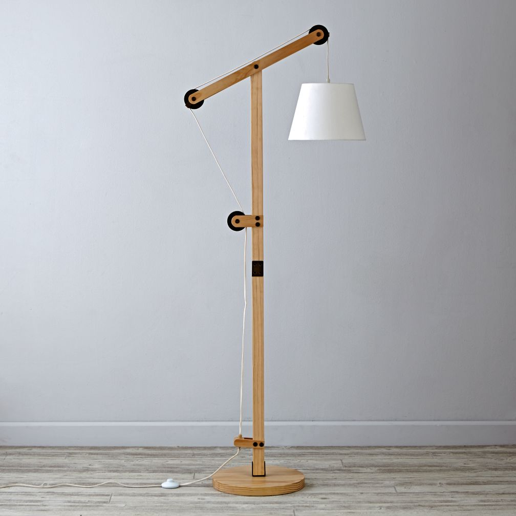 Pulley Floor Lamp