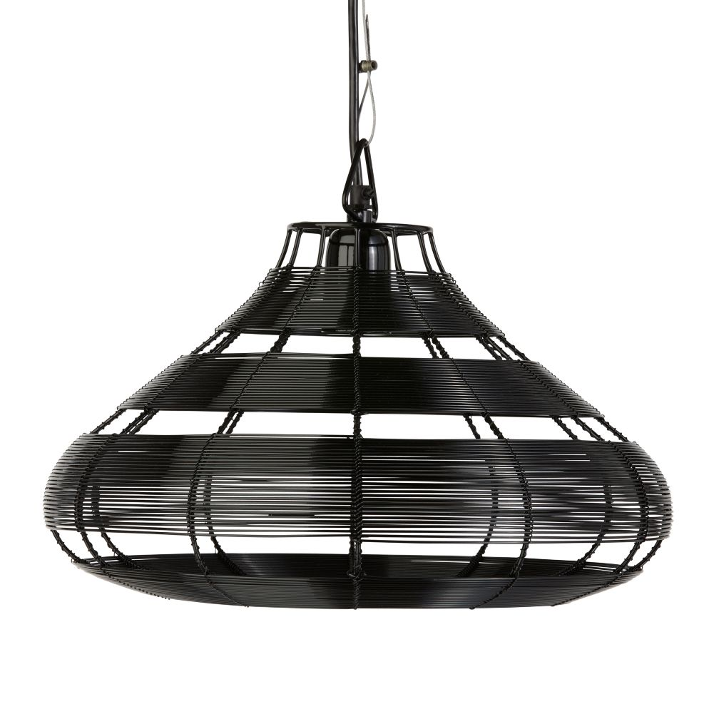 Black Wire Aviary Pendant Lamp