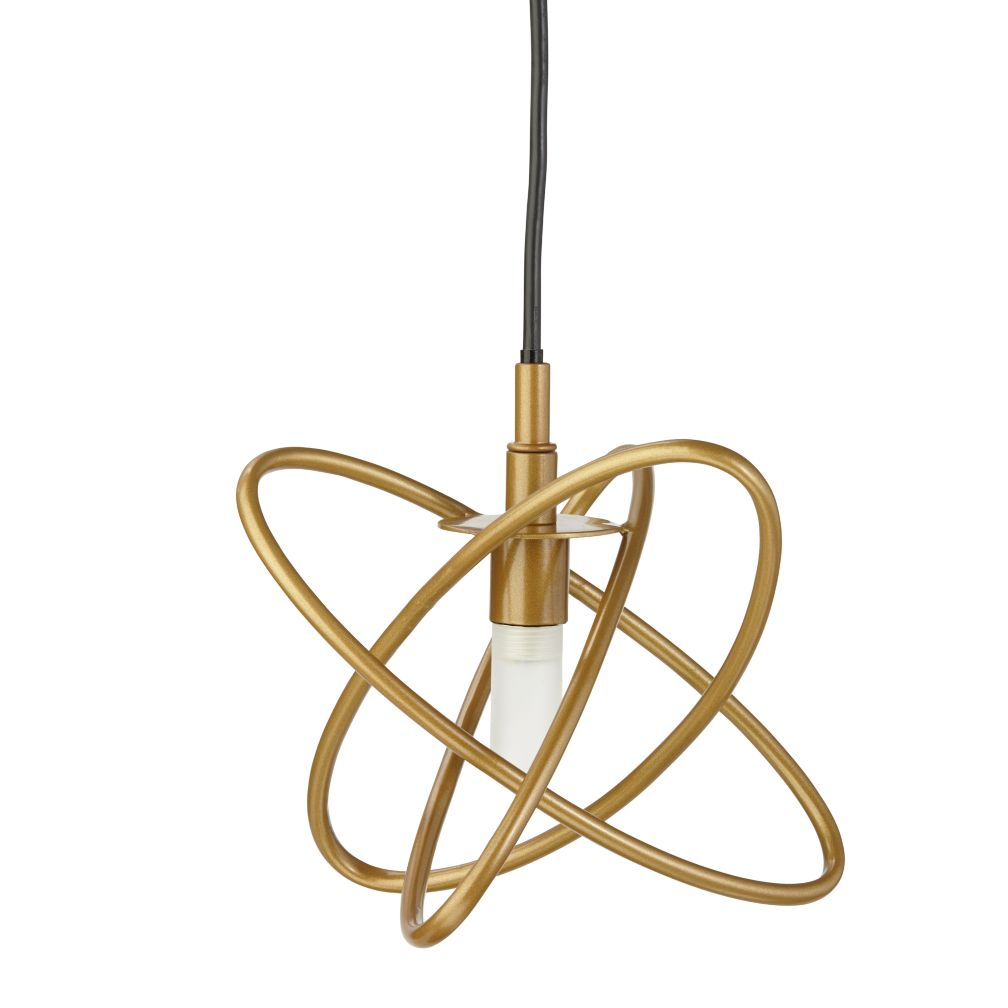 Gold Electron Ceiling Lamp