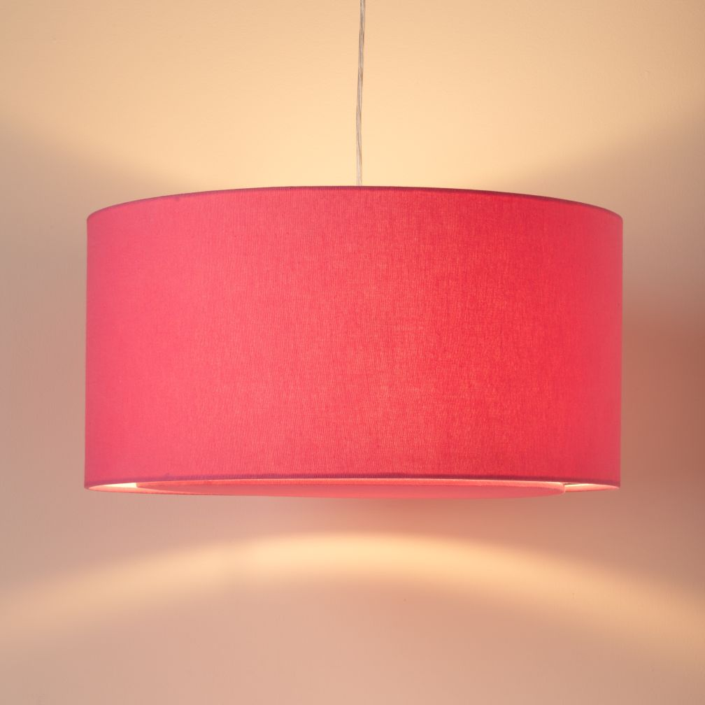 Hot Pink Ceiling Lamp