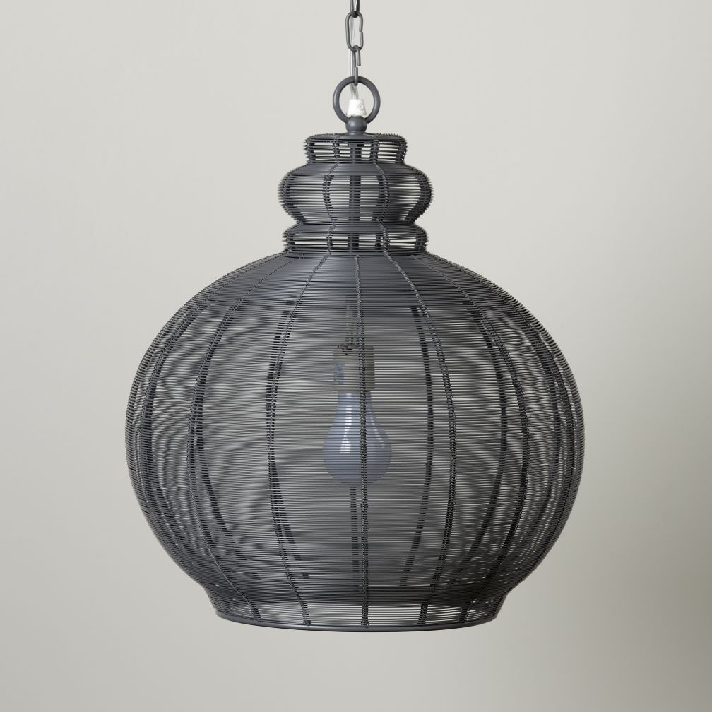 High Wire Pendant Lamp (Grey)