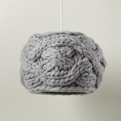 Lamp_Pendant_Knit_GY_OFF