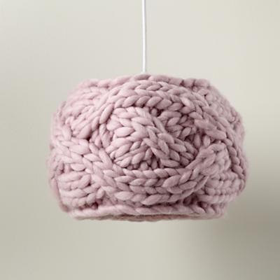 Cardigan Pendant Lampshade (Pink)