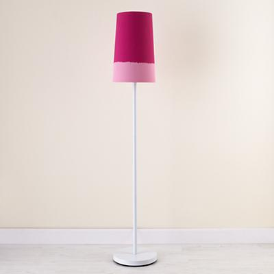 Pink Lighten Up Floor Shade (with White Base)