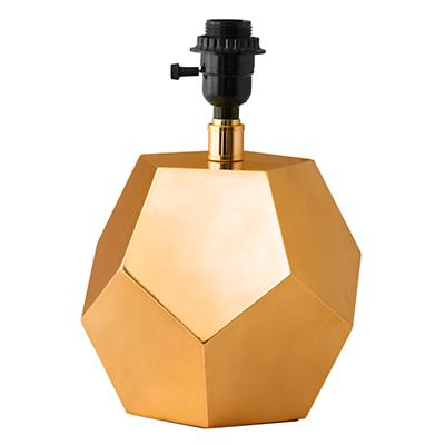 Between a Rock Lamp Base (Gold)